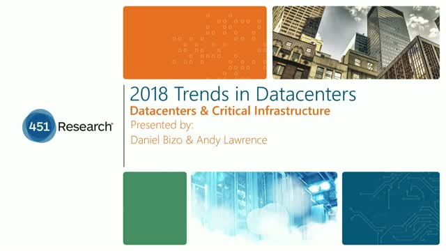 2018 Trends in Datacenters