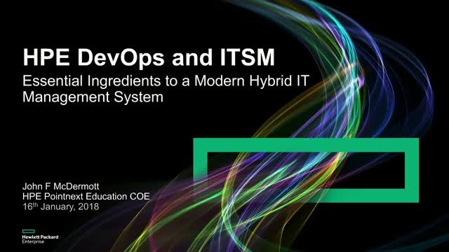 DevOps and ITSM – Essential Ingredients to a Modern Hybrid IT Management System