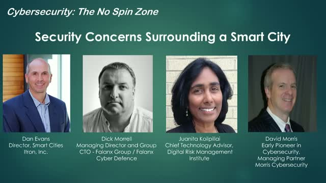 Security Concerns Surrounding a Smart City