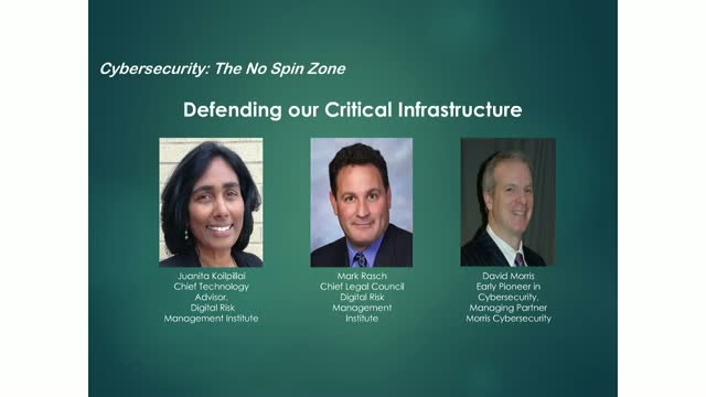 Defending our Critical Infrastructure
