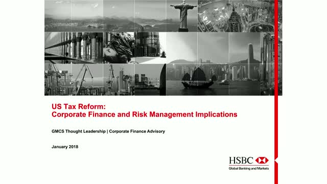 HSBC - US Taxes: Update & Potential Considerations for Corporates