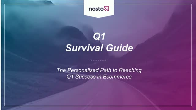 Your Personalized Path to Q1 Success in eCommerce