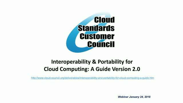 Interoperability and Portability for Cloud Computing: A Guide v2.0