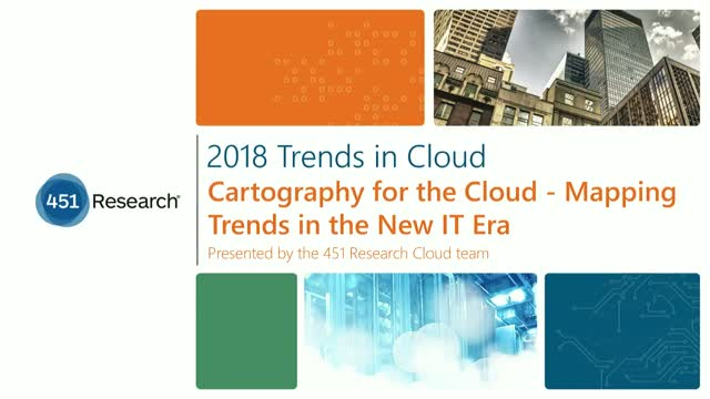 2018 Trends in Cloud