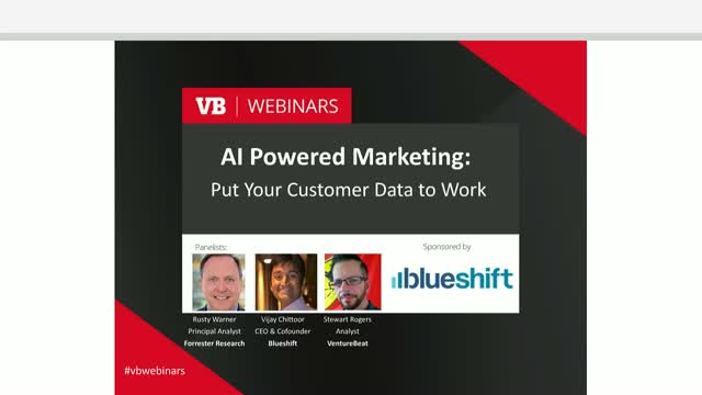 AI-powered marketing: Put your customer data to work
