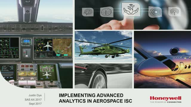 Honeywell Aerospace Implements IIoT & Advanced Analytics to Enable Improvements