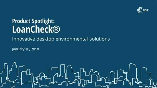Product Spotlight: Meet SBA Requirements with EDR's LoanCheck® RSRA