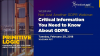 Not Just Another GDPR Webinar: Critical Information You Need to Know About GDPR