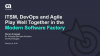 ITSM, DevOps and Agile Play Well Together in the Modern Software Factory