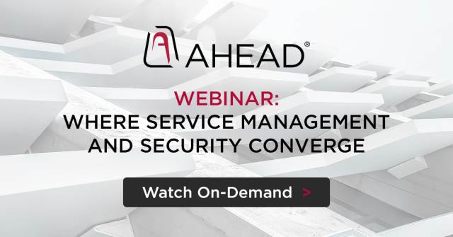 Where Service Management and Security Converge