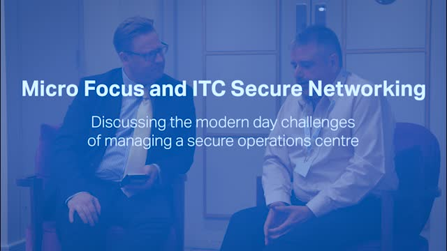 Discussing the modern day challenges of managing a secure operations centre