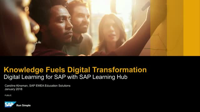 Knowledge Fuels Digital Transformation