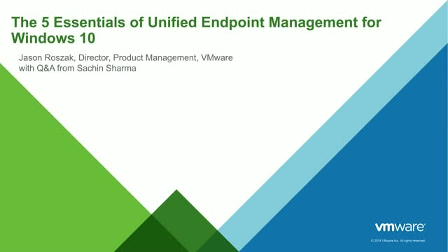The 5 Essentials of Data Security & Unified Endpoint Management