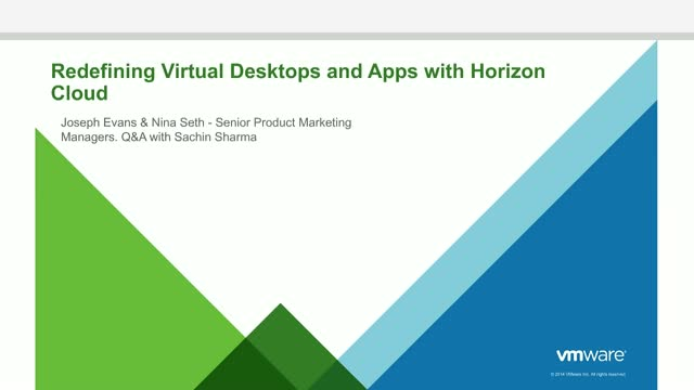 When Cloud Meets VDI: Redefining Virtual Desktops & Applications in 2018