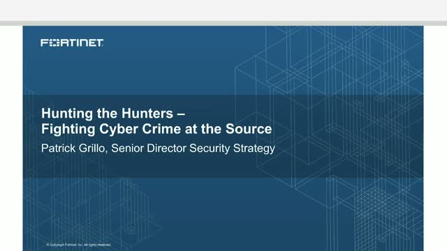 Hunting the Hunters or Can you cover your cyber tracks to avoid being caught?
