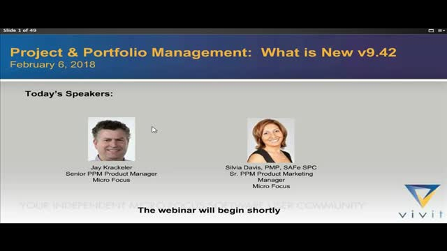 Project & Portfolio Management: What is new v9.42