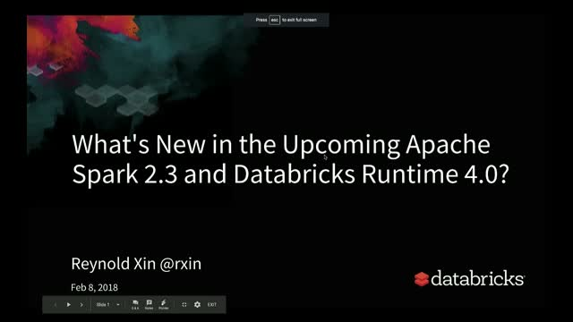 What's New in the Upcoming Apache Spark 2.3 Release?