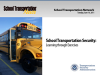 School Transportation Security: Learning through Exercises