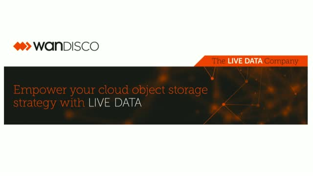 How to Empower Your Cloud Object Storage Strategy with LIVE DATA