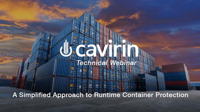 Discover a Simplified Approach to Container Runtime Protection