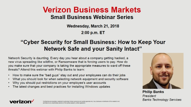 Cyber Security for Small Business: Keep Your Network Safe and Your Sanity Intact