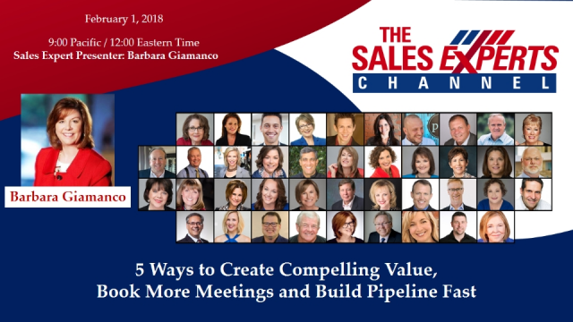 5 Ways Salespeople Can Create Compelling Value, Book Meetings and Build Pipeline