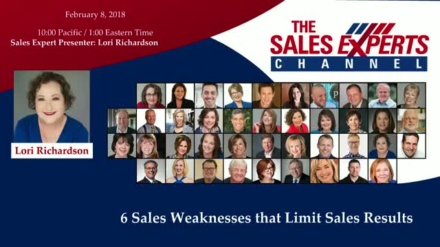 6 Sales Weaknesses that Limit Sales Results