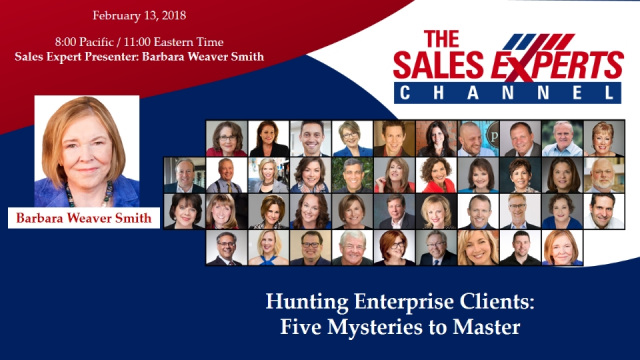 Hunting Enterprise Clients: Five Mysteries to Master
