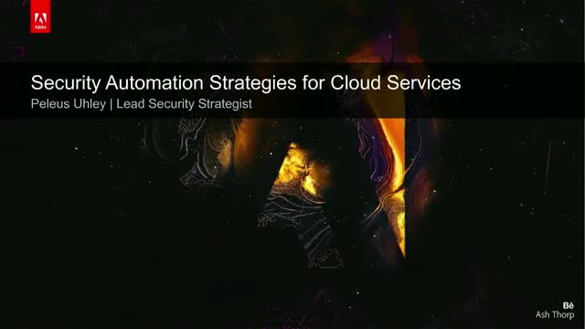 Automating Security for Cloud Services
