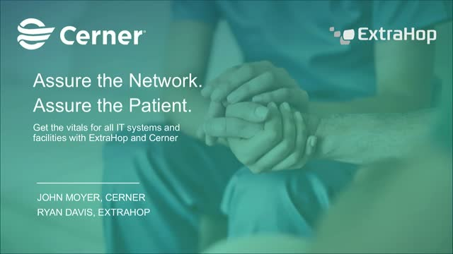 Assure the Network. Assure the Patient.