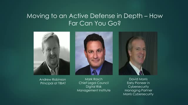 Moving to an Active Defense - how far can you go?