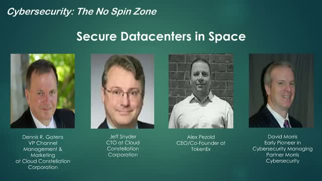 Secure Datacenters in Space