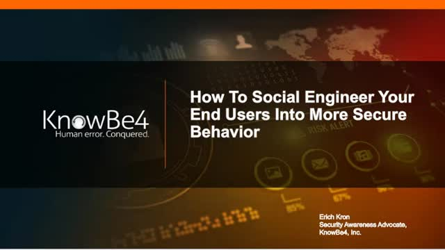 How to Social Engineer Your Users Into More Secure Behavior