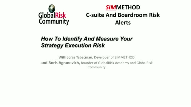 How To Identify And Measure Your Strategy Execution Risk