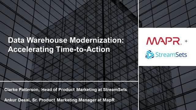 Data Warehouse Modernization: Accelerating Time-to-Action