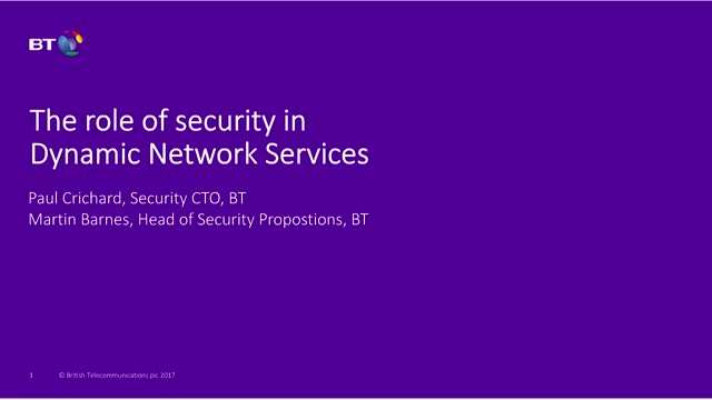 How to make security a key part of your future network strategy