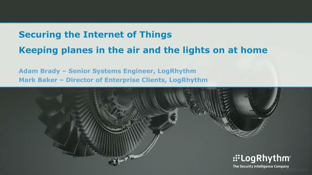 Securing the IoT: Keeping planes in the air and the lights on at home