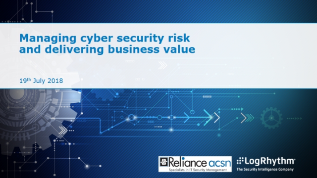 Managing Cybersecurity Risk and Delivering Business Value
