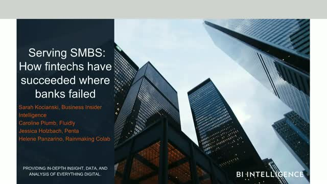 Serving SMBS: How fintechs have succeeded where banks failed