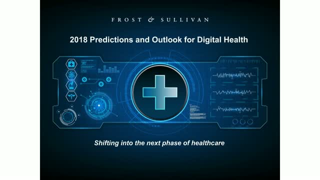 2018 Frost & Sullivan Predictions and Outlook for Digital Health