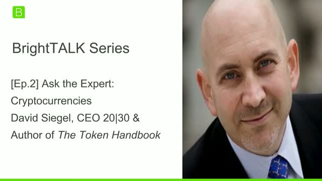 [Ep.2] Ask the Expert: Cryptocurrencies