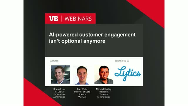 AI-powered customer engagement isn't optional anymore