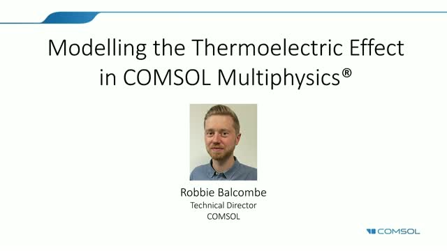 Modelling the Thermoelectric Effect