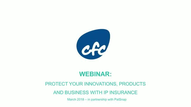 Protect your innovations, products and business with IP insurance