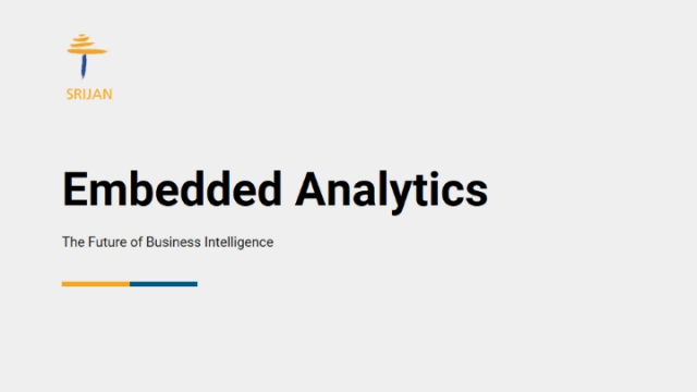 Embedded Analytics: Why it's the Future of Business Intelligence