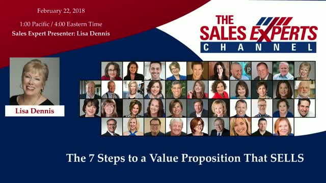 The 7 Steps to a Value Proposition That SELLS