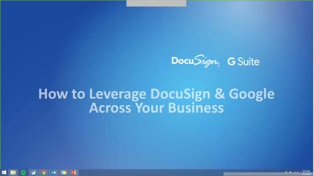 How to Leverage DocuSign & Google Across Your Business