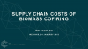 Supply chain costs of biomass cofiring