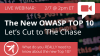 The OWASP Top 10 2017 - Let's Cut to The Chase