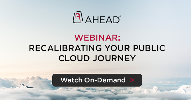 Recalibrating Your Public Cloud Journey